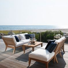 Janus et Cie's New Outdoor Collections : Architectural Digest