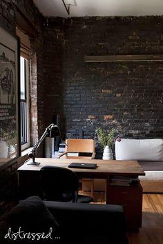 Méchant Studio Blog: brick wall inside