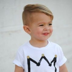 Stylish Baby Boy Haircuts To Make Your Kids So - Toddler boy haircuts - Baby Cute Boy Hairstyles, Cute Toddler Boy Haircuts, Boy Haircuts Short, Baby Boy Haircuts, Cool Haircuts, Haircut Short, Kids Hairstyles Boys, Hairstyle Ideas, 2018 Haircuts