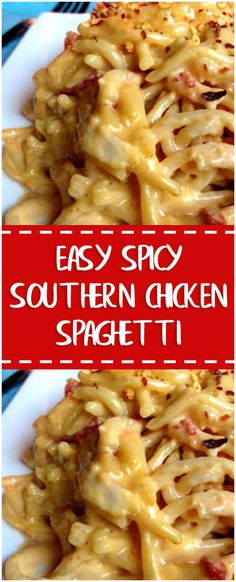 Easy Spicy Southern Chicken Spaghetti – Fresh Family Recipes