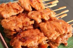 วิธีทำ หมูปิ้ง สูตรกะทิ หวาน นุ่ม | สูตรอาหาร จานโปรด