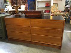 "Vintage Six Drawer Dresser On Sale   60"" Wide x 18"" Deep x 29"" High  Was $295 Sale Price $195  Booth #282  Lula B's  2639 Main St.   Dallas, TX 75226  Read more: http://dallas.ebayclassifieds.com/other/dallas/vintage-six-drawer-dresser-on-sale/?ad=43994748#ixzz45vUgHBol"