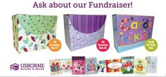 cards for a cause fundraising idea...organization raising funds receives 40% of the sale price.