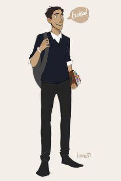 Gansey's such a f---ing nerd I love him so much