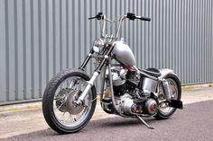 Custom Harley-Davidson Shovelhead Build, JANESHOVELHEAD | Rocket Bobs