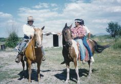 An enumerator conducts the 1990 Census in New Mexico by horseback.  In 1990, New Mexico's population was 1,515,069.  In 2010, the state's population was 2,059,179.
