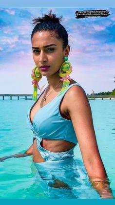 Erica Fernandes, Glamorous Dresses, Indian Celebrities, Pretty Wallpapers, Indian Beauty, Indian Fashion, Bikinis, Swimwear, Bollywood
