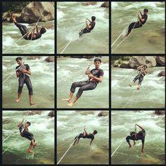 River Crossing: A fun adventure activity in #Manali