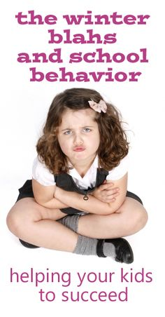 Breaking out of winter blahs at school - advice from a parent on how to help kids behavior | at www.julieverse.com
