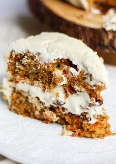 Ultra Moist Carrot Cake and Cream Cheese Frosting
