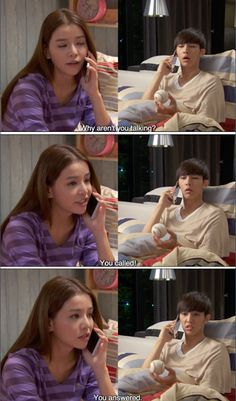 Asian drama meme. It is the show called , Fall In Love With Me with Aaron Yan and Tia Ling