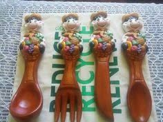 Measuring Spoons, Fondant, Clay, Ceramics, Decoration, Spoons, Kitchens, African Crafts, Pottery Designs