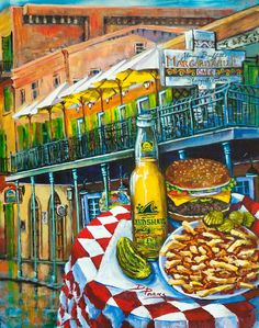 Cheeseburger in Paradise...Dianne Parks
