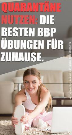 #BBP #Übungen gesucht? Mit diesen tollen Bauch, Beine und Po Training, trainierst du deine Problemzonen. Das Workout ist super einfach und kann in jedem Wohnzimmer  gemacht werden.