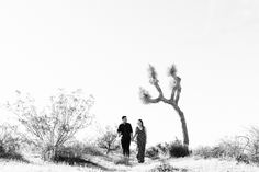 VIDEO: We went out to Joshua Tree for this engagement photo shoot