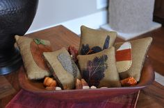 Cottons 'n Wool: A little more fall decorating