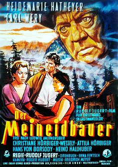 Poster zum Film: Der Meineidbauer. 1956