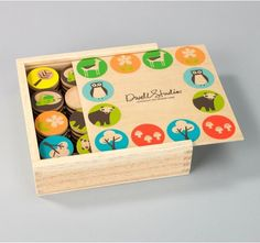 DwellStudio Woodland Memory Game