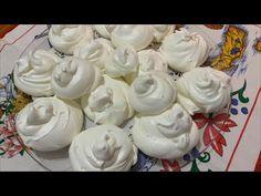 Suspiros como minha mãe fazia antigamente à Moda dos Açores - YouTube Brownie Cookies, Cookie Bars, Marie Biscuit Cake, Portuguese Recipes, Portuguese Food, Icing Recipe, Dessert Recipes, Desserts, Make It Yourself