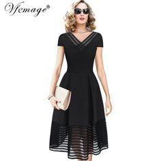 Vfemage Women Ele...   http://dragonmiss.com/products/vfemage-women-elegant-sexy-see-through-casual-a-line-dress?utm_campaign=social_autopilot&utm_source=pin&utm_medium=pin