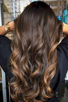 38 Hot Brunette Balayage Hairstyle Ideas