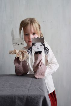 Atticus the Bunny and Little Miss Nellie love to perform and are more than excited to debut on their next performance. Paper Puppets, Paper Toys, Cardboard Toys, Diy For Kids, Crafts For Kids, Arts And Crafts, Toddler Activities, Activities For Kids, Puppets For Kids