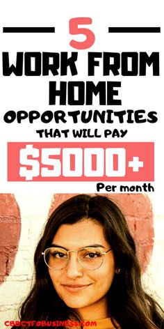 Are you on the lookout for legitimate work from home jobs? Do you wish to increase your income while enjoying family-time? Then you've landed in the right spot please check out our 5 insane work from home jobs. Work From Home Opportunities, Work From Home Tips, Way To Make Money, Make Money Online, Legitimate Work From Home, Busy At Work, Money Quotes, Online Earning, Online Work