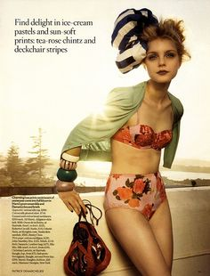 Adoring the vintage style lingerie. Were not the only inspired souls !
