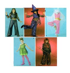 Teen Halloween Costume Simplicity 4009 by FindCraftyPatterns, $10.00