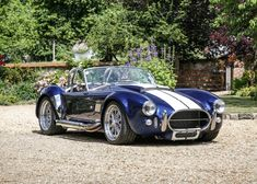 Historics is the UK's premier auction house for the sale and purchase of the finest historic, classic and sports cars and motoring memorabilia. Classic Sports Cars, Classic Cars, Cobra Kit Car, Ac Cobra 427, Shelby Cobra Replica, Shelby Car, Classic Corvette, Racing Stripes, Kit Cars