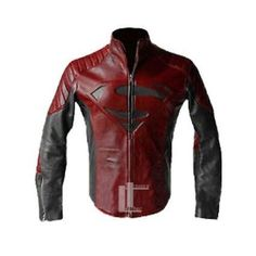 Superman Man of Steel Smallville Red & Black High Quality Leather Shield Jacket | http://www.ebay.com/itm/Superman-Man-of-Steel-Smallville-Red-Black-High-Quality-Leather-Shield-Jacket-/261761605078?hash=item3cf2351dd6:g:FtwAAOSwa39U076q