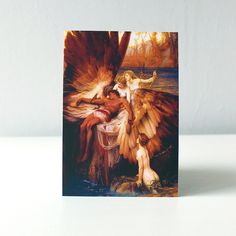 Card / Hellas / historical painting //  The Lament for Icarus   €2.50