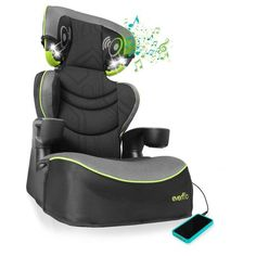 "Evenflo Big Kid DLX ""Jonah"" High Back Booster Seat available from Walmart Canada. Find Baby online at everyday low prices at Walmart.ca"