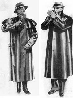 The Mackintosh was a used as a waterproof coat which later on caused problems for everbody.