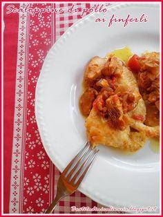 Beatitudini in cucina: Pollo ai finferli  #chicken #mushrooms #recipe #ricetta #secondo piatto
