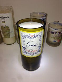 New to BottleShopCandles on Etsy: Soy wax Wine bottle Candle (45.00 CAD)