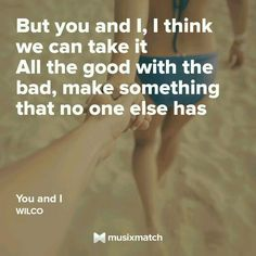 You and I - Wilco
