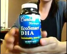 DHA supplement - A recent study showed that consumption of docosahexaenoic acid (DHA) may improve memory in elderly people who have mild cognitive impairment