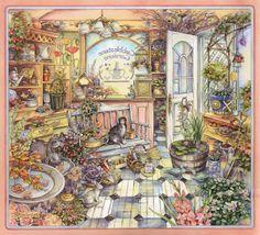 Kim Jacobs ~ Cottage Cats 1
