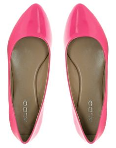 pink flats - would love to add these (or something similar) to my wardrobe - size 7.5 or 8 at Aldo or Nine West