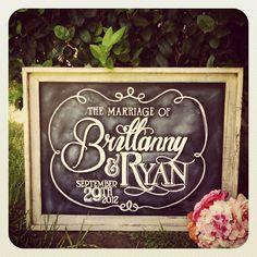 custom chalkboard signs | Wedding sign chalkboard wedding Custom wedding chalkboard ... | Holid ...