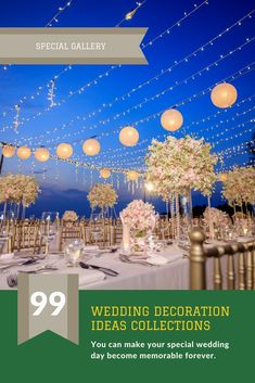 Dress-Up Your Wedding Event Decoration By One Of These Pleasing ...