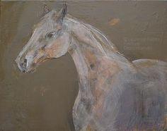 Horse Painting - CHEVAUX  FORMATS MOYENS  COLLAGES  & acryliques sur toile / acrylics on canvas       Veuillez me contacter pour renseignements et commandes: laurieartwork@gmail.com Horse Art
