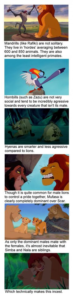 Just some small facts about The Lion King