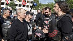 The Night Wolves motorcycle club following the path of the Soviet soldiers to Berlin is not provocative, says Russian Embassy. What do you think? Are they trying to stir emotions, or are simply paying homage to their fallen heroes?