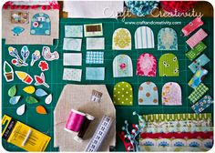 Dagens pyssel, tyghus – Craft of the Day, fabric houses   Craft & Creativity – Pyssel & DIY
