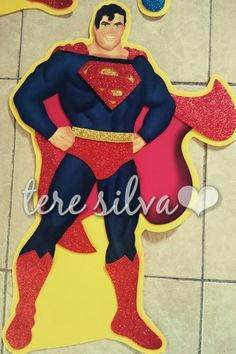 Superman 1m Superman Kids, Superman Birthday, Spiderman, Disney Characters, Fictional Characters, Snow White, Disney Princess, Halloween, Ideas
