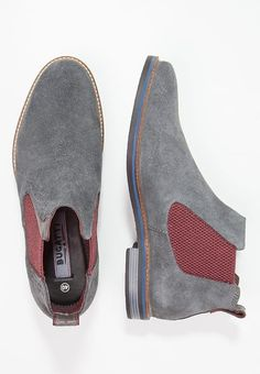 Bugatti Boots - grau - Zalando.co.uk