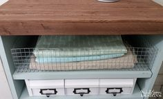 s 11 life changing storage ideas for less than storage ideas, Build your own custom bins with chicken wire Dollar Store Bins, Dollar Stores, Vintage Lockers, Diy Concrete Planters, Old Shutters, Repurposed Shutters, Fabric Boxes, Bathroom Organisation, Office Organization
