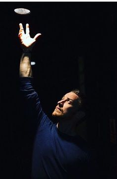 James during his performance at the Royal Court Theatre